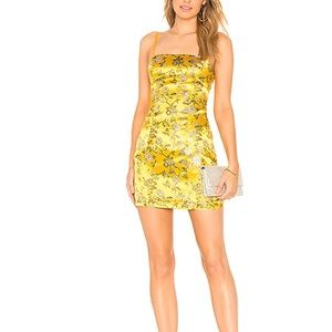 Dresses & Skirts - By the way Clothing Amanda Floral Brocade NWT